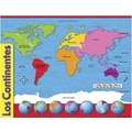 Trend Enterprises® Los Continents (Continents) Spanish Learning Chart