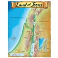 Trend Enterprises® Land of Jesus Learning Chart
