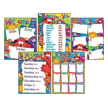Trend Enterprises® Furry Friends™ Classroom Basics Learning Chart