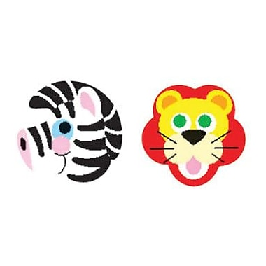 Trend Enterprises® SuperShapes Stickers, Zoo Animals