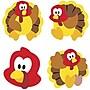 Trend Enterprises® SuperShapes Stickers, Turkey Time