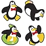 Trend Enterprises Supershapes Stickers, Perky Penguins