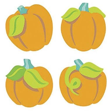 Trend Enterprises® SuperShapes Stickers, Proud Pumpkins