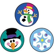Trend Enterprises® SuperSpots® Stickers, Winter Joys