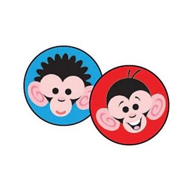 Trend Enterprises® SuperSpots® Stickers, Monkey Mayhem