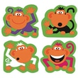 Trend Enterprises® SuperShapes Stickers, Monkey Antics