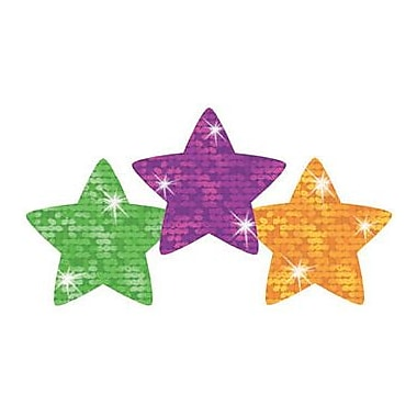 Trend Enterprises® SuperSpots® Sparkle Stickers, Super Stars
