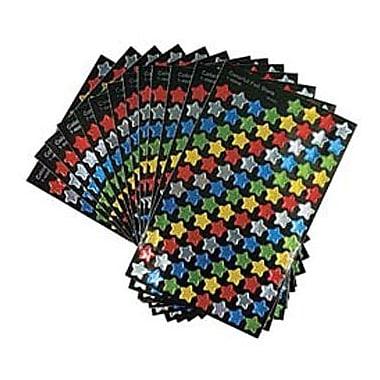 Trend Enterprises® SuperShapes Stickers, Colorful Foil Stars