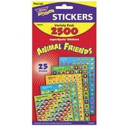 Trend Enterprises® SuperSpots® Stickers, Animal Friends