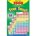 Trend Enterprises® SuperShapes Stickers, Star Smiles, 2500/Pack