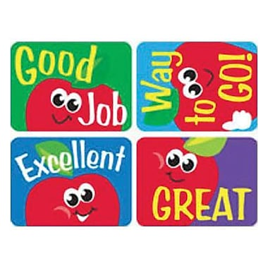 Trend Enterprises® Applause Stickers, Apples