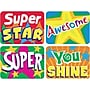 Trend Enterprises Applause Stickers, Stars