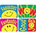 Trend Enterprises® Applause Stickers, Smiley Faces