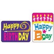 Trend Enterprises® Applause Stickers, Happy Birthday