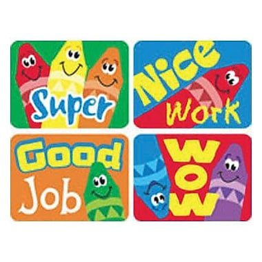 Trend Enterprises® Applause Stickers, Crayons