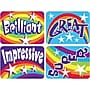 Trend Enterprises Applause Stickers, Rainbows