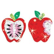 Trend Enterprises® Sparkle Stickers, Apple Dazzlers