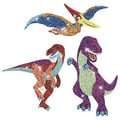 Trend Enterprises® Sparkle Stickers, Dazzling Dinos