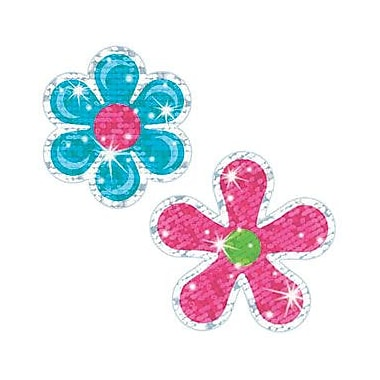 Trend Enterprises® Sparkle Stickers, Flower Power
