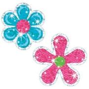 Trend Enterprises® Sparkle Stickers, Flower Power