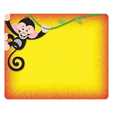Trend Enterprises® pre-kindergarten - 9th Grades Name Tag, More Monkey Mischief