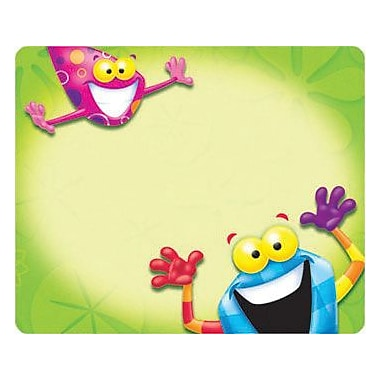 Trend Enterprises® pre-kindergarten - 9th Grades Name Tag, Frog Tastic