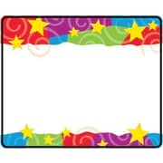 Trend Enterprises® Pre Kindergarten - 9th Grades Name Tag, Stars n Swirls