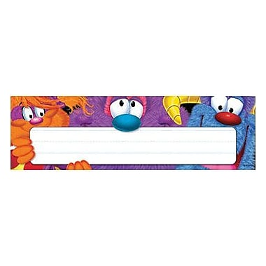 Trend® Desk Toppers® pre-kindergarten - 3rd Grades Name Plate, Furry Friends, 36/Pack