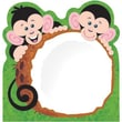 Trend Enterprises® 5in. x 5in. More Monkey Mischief® Note Pad, Monkey