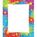 Trend Enterprises® 7 3/4in. x 6 1/2in. Note Pad, Stars 'n Swirl