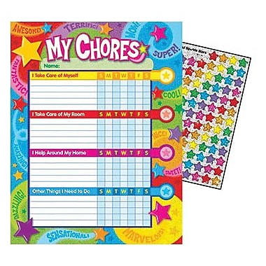 TREND Enterprises T-73130 Praise Words N Stars Chore Chart