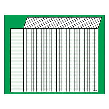 Trend Enterprises® Jumbo Incentive Chart, GreenHorizontal