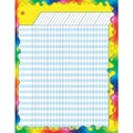 Trend Enterprises® Vertical Large Incentive Chart, Rainbow Gel
