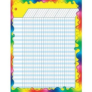 Trend Enterprises® Vertical Large Incentive Chart, Rainbow Gel