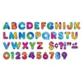 Trend Enterprises® Ready Casual Uppercase Letter, 4in., Multi-Color