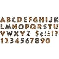 Trend Enterprises® Ready Venture Uppercase Letter, 4in., Animal Prints