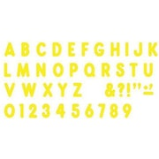 Trend Enterprises® Ready Billboard Uppercase Letter, 7, Yellow