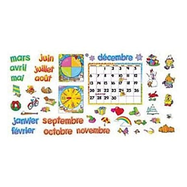 Trend Enterprises® Bulletin Board Set, French Calendrier Mensuel