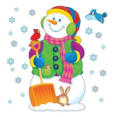 Trend Enterprises® Bulletin Board Set, Super Snowman