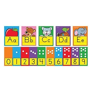 Trend Enterprises® Bulletin Board Set, ABC Fun Alphabet Line Zaner-Bloser Manuscript