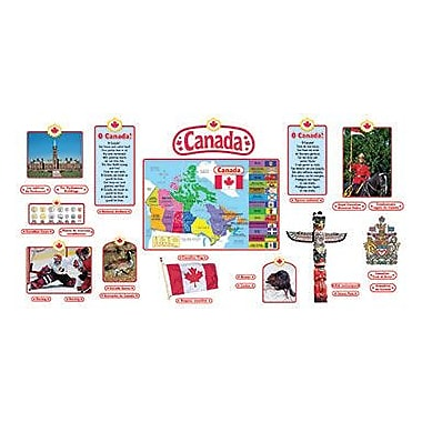 Trend Enterprises® Bulletin Board Set, Canadian Symbols