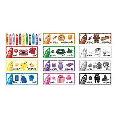 Trend Enterprises® Bulletin Board Set, My Colorful World Color Line