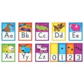 Trend Enterprises® Bulletin Board Set, Awesome Animals Alphabet Cards (Standard Manuscript)