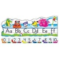 Trend Enterprises® Bulletin Board Set, Pool Party Pals Alphabet Line, Standard Manuscript