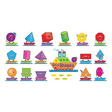 Trend Enterprises® Bulletin Board Set, Ship Shapes and Colors