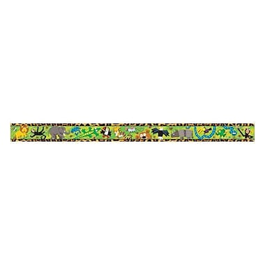 Trend Enterprises® pre-kindergarten - 9th Grades Bulletin Board Border, Jungle Fun