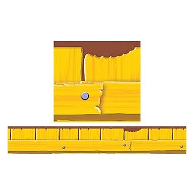 Trend Enterprises® pre-kindergarten - 6th Grades Bulletin Board Border, Furry Friends Fence