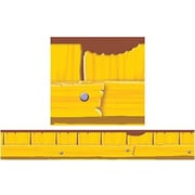 "TREND T-85094 35.75' x 2.75"" Straight Fence Furry Friends Bolder Borders, Yellow"