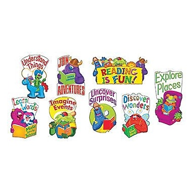 Trend Enterprises® Furry Friends™ Mini Bulletin Board Set, Let's Read