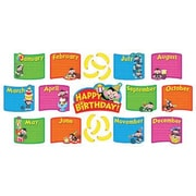 Trend Enterprises® Monkey Mischief® Mini Bulletin Board Set, Birthday Bunch